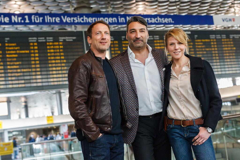 Pressekonferenz zum Drehstart des ARD-Tatorts «Himmelfahrt»