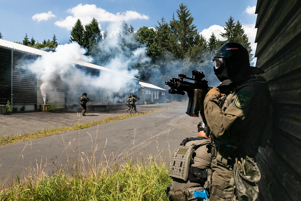Auslandsvorbereitung der Spezialeinheit PSA der Bundespolizei