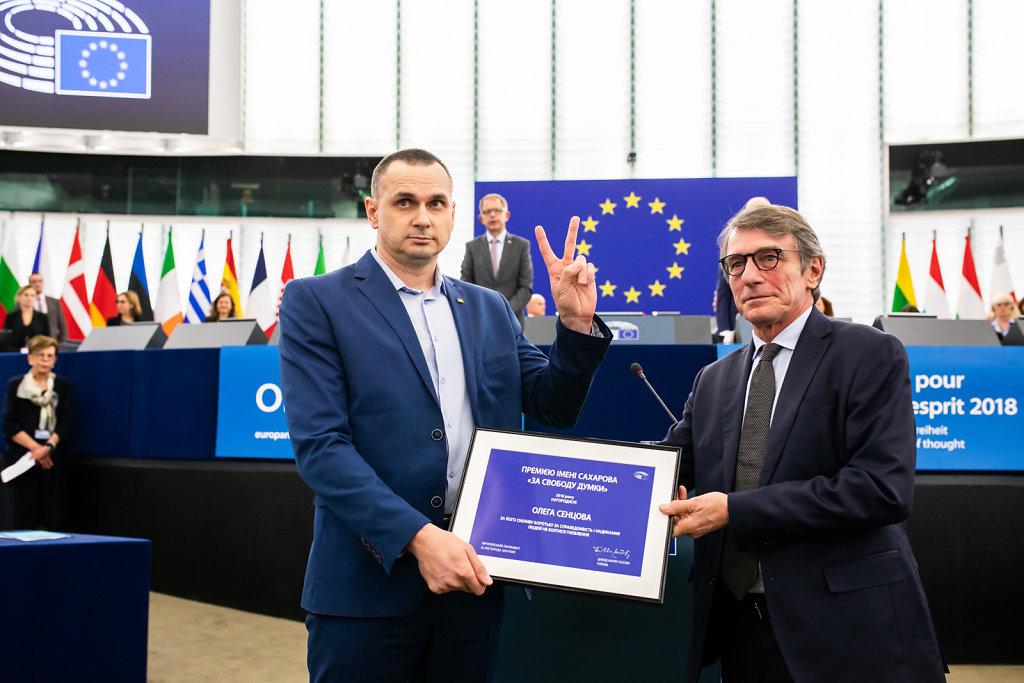 Sacharow-Preis des Europäischen Parlaments